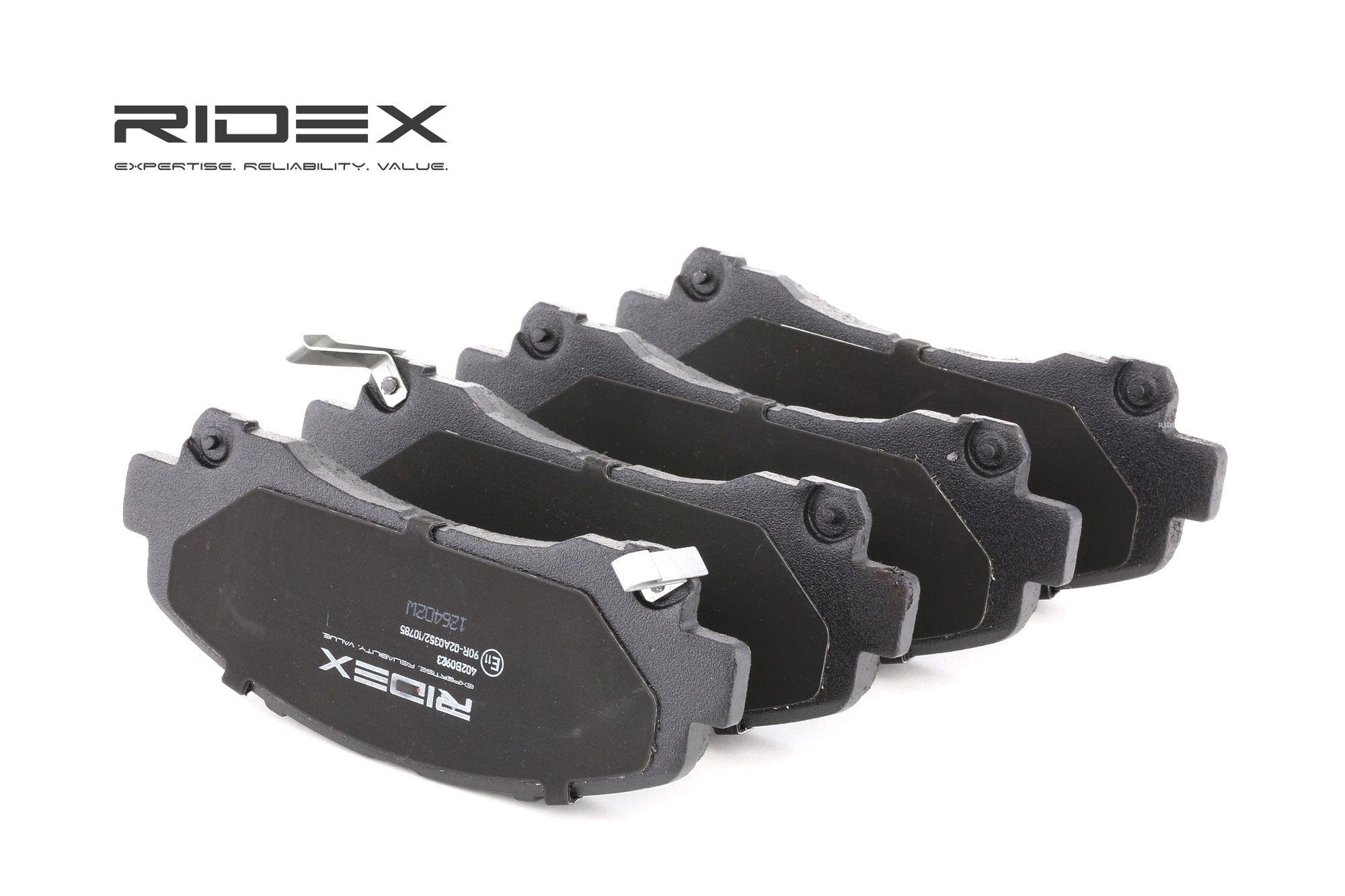 RIDEX: Original Tuning 402B0923 (Höhe 1: 60,5mm, Breite 1: 152mm, Dicke/Stärke 1: 16,0mm)