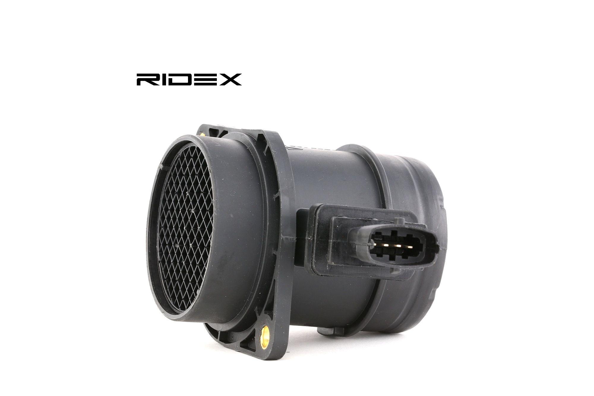 RIDEX: Original Luftmassensensor 3926A0133 (Spannung: 12V, Anschlussanzahl: 4)