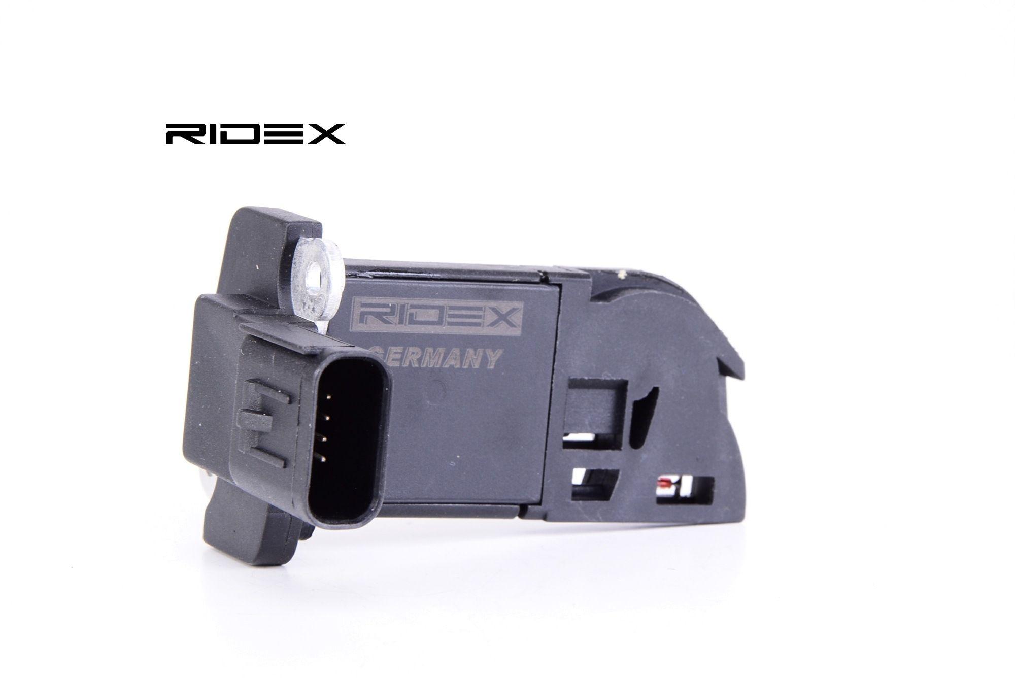 RIDEX: Original Luftmassenmesser 3926A0068 (Spannung: 12V, Anschlussanzahl: 4)