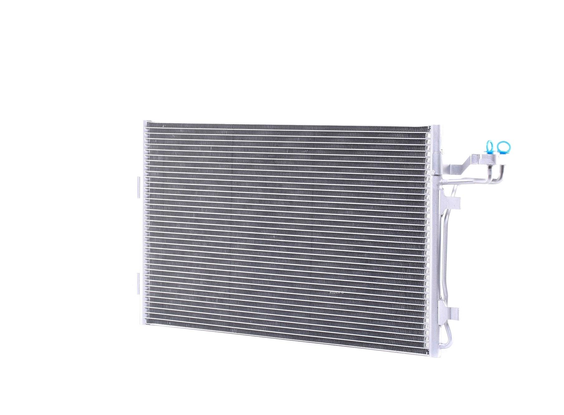 RIDEX: Original Kondensator Klimaanlage 448C0003 (Kältemittel: R 134a)