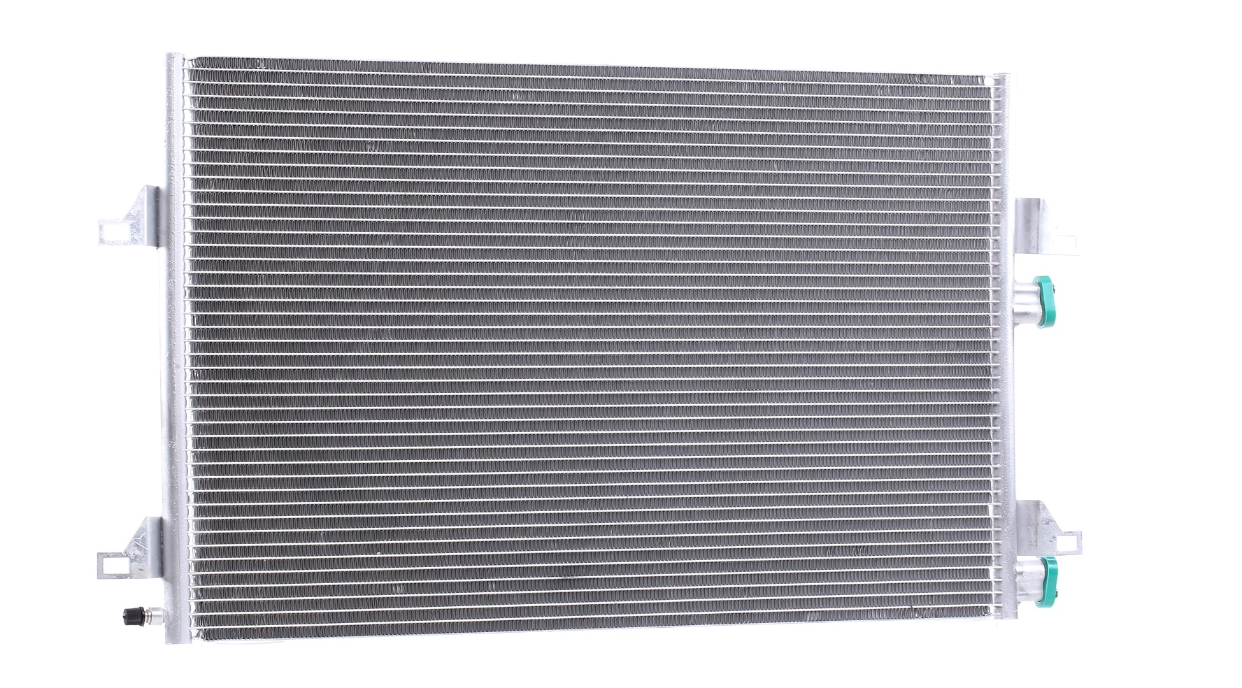 RENAULT 21 1996 Klimakühler - Original RIDEX 448C0062 Netzmaße: 700 x 426 x 16 mm