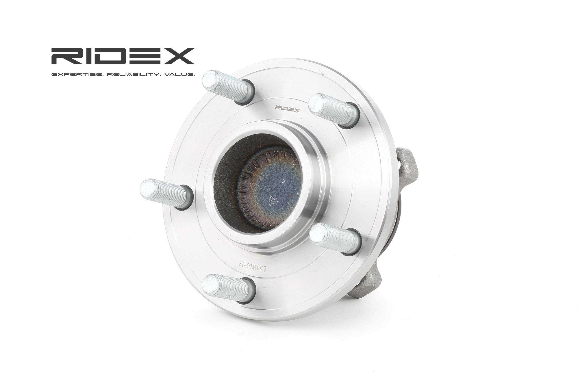 RIDEX: Original Radlager 654W0203 ()