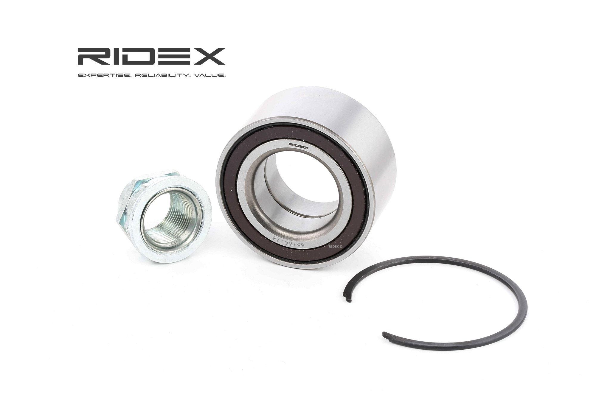 RIDEX: Original Radnabe 654W0178 (Ø: 66mm, Innendurchmesser: 35mm)