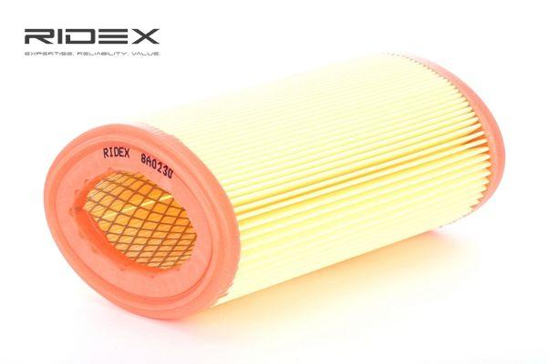 Kupte a vyměňte Vzduchový filtr RIDEX 8A0230