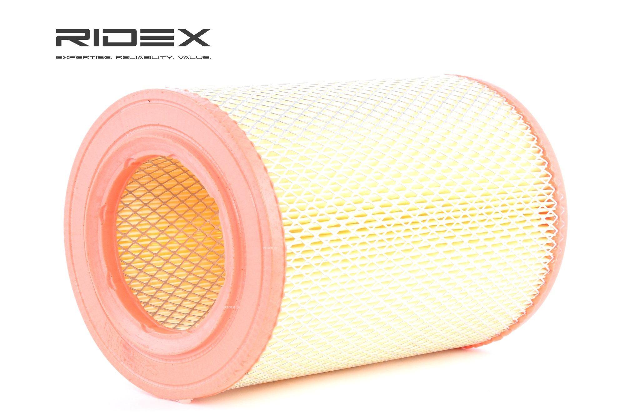 Въздушен филтър 8A0358 с добро RIDEX съотношение цена-качество