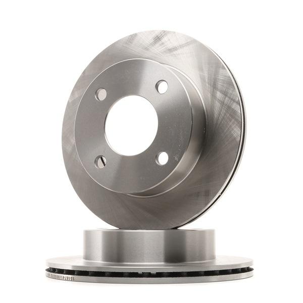 RIDEX: Original Bremsscheibe 82B1106 (Ø: 214,0mm, Lochanzahl: 4, Bremsscheibendicke: 15mm) mit vorteilhaften Preis-Leistungs-Verhältnis