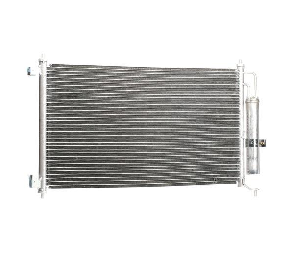 RIDEX: Original Kondensator Klimaanlage 448C0149 (Netzmaße: 654 x 340 x 16 mm)