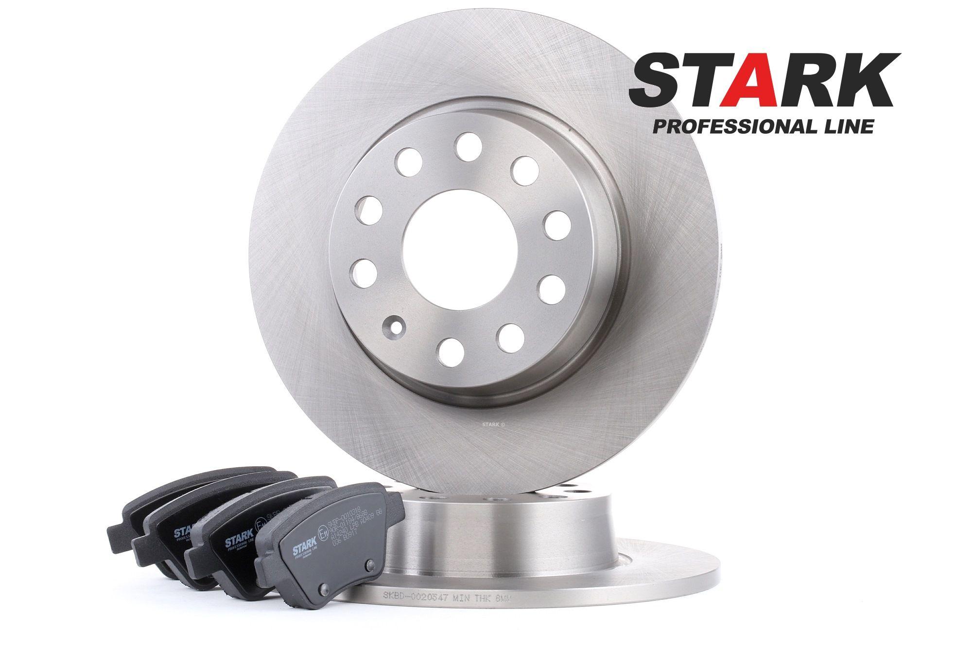 STARK: Original Bremsscheiben und Beläge SKBK-1090092 (Bremsscheibendicke: 10mm)