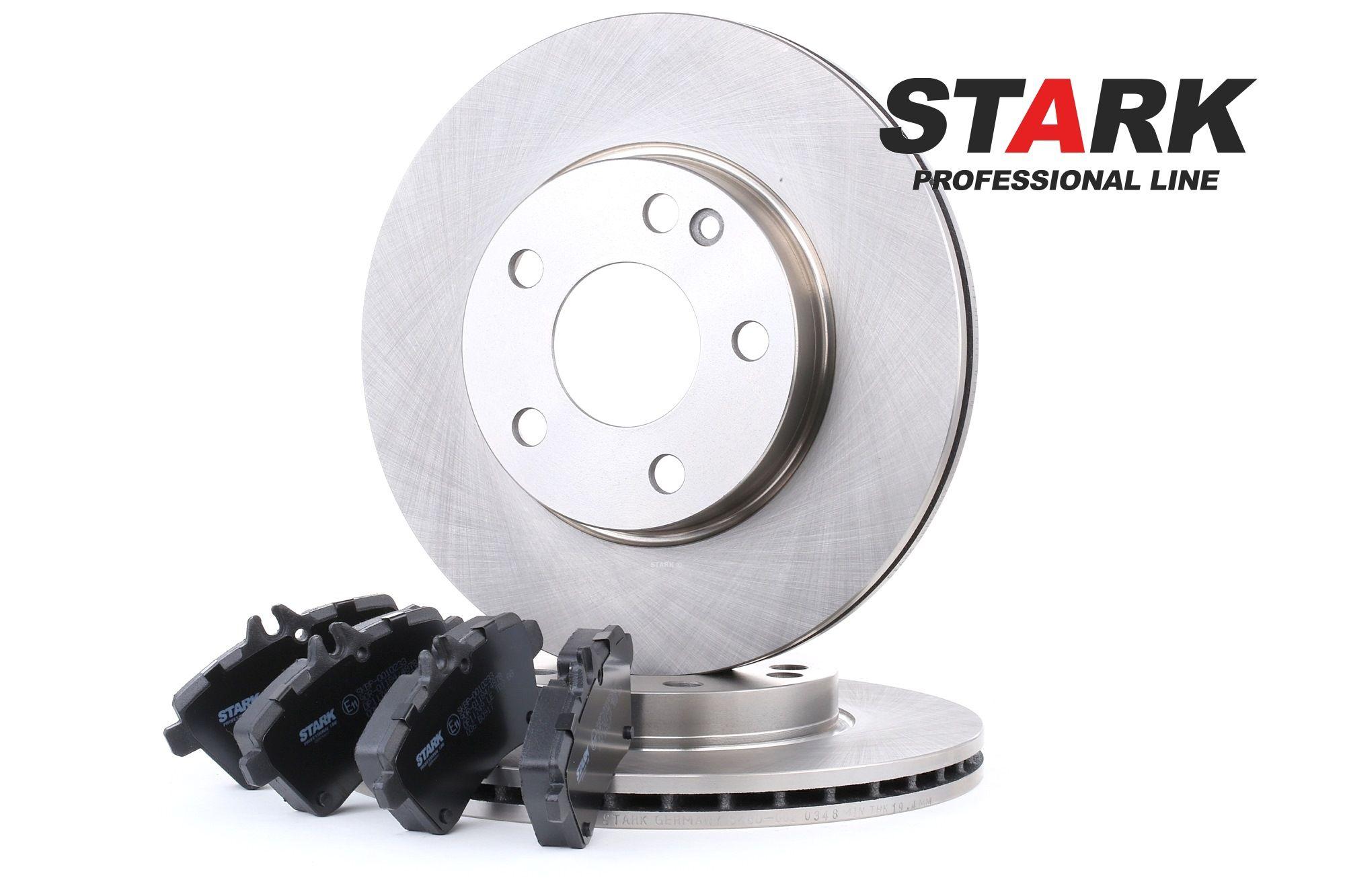STARK: Original Bremsensatz SKBK-1090180 (Bremsscheibendicke: 22mm)