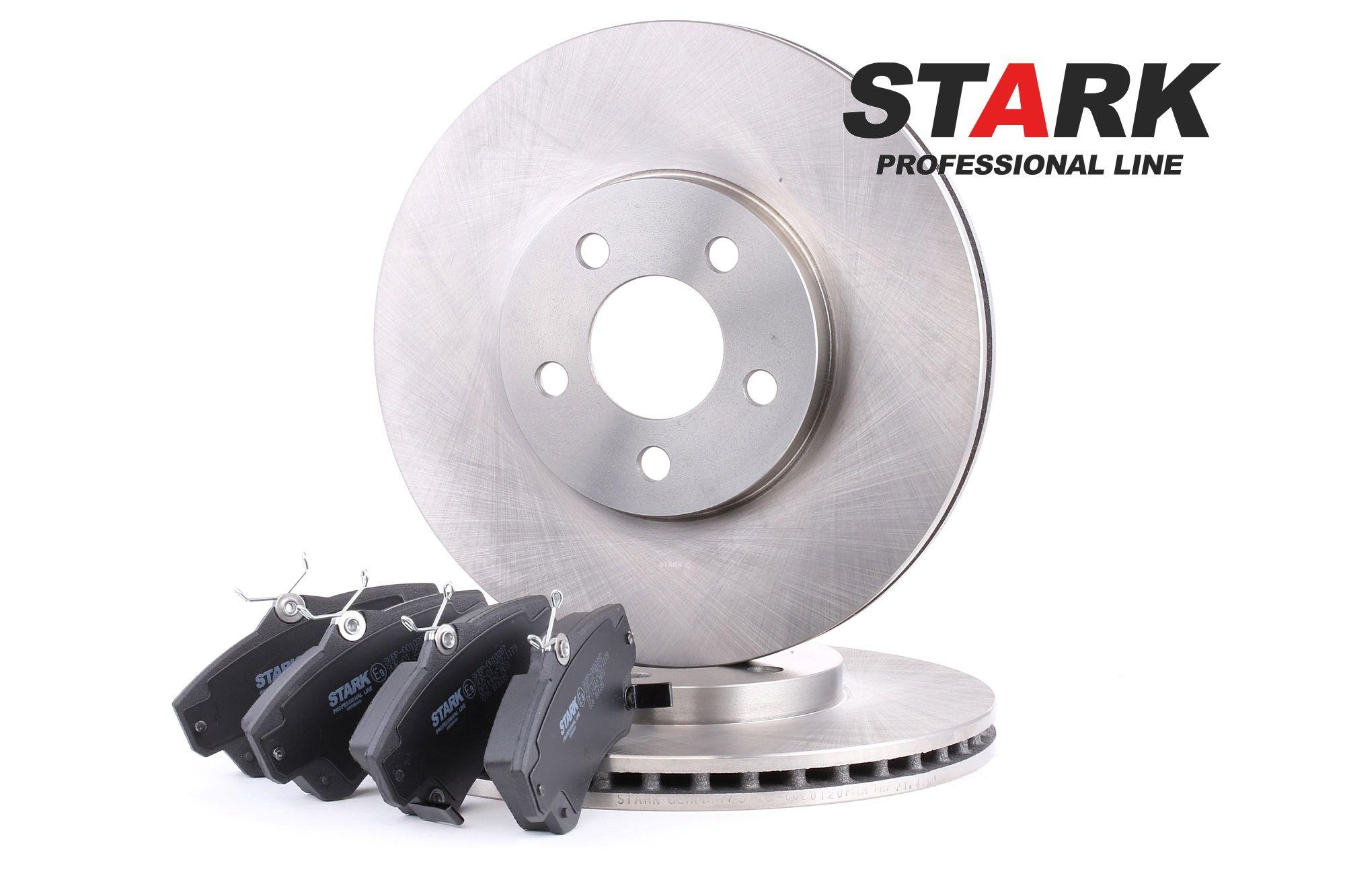 STARK: Original Bremsscheiben und Beläge SKBK-1090210 (Bremsscheibendicke: 23mm)