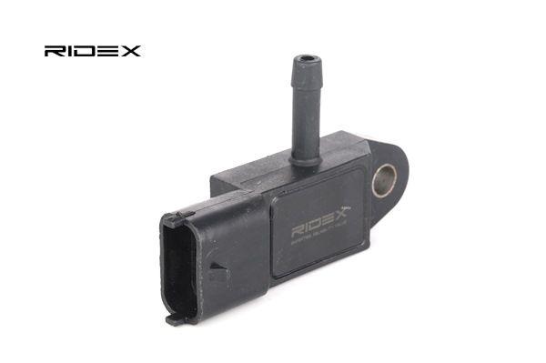 Αγοράστε RIDEX Aισθητήρας, πίεση υπερπλήρωσης 161B0004 οποιαδήποτε στιγμή