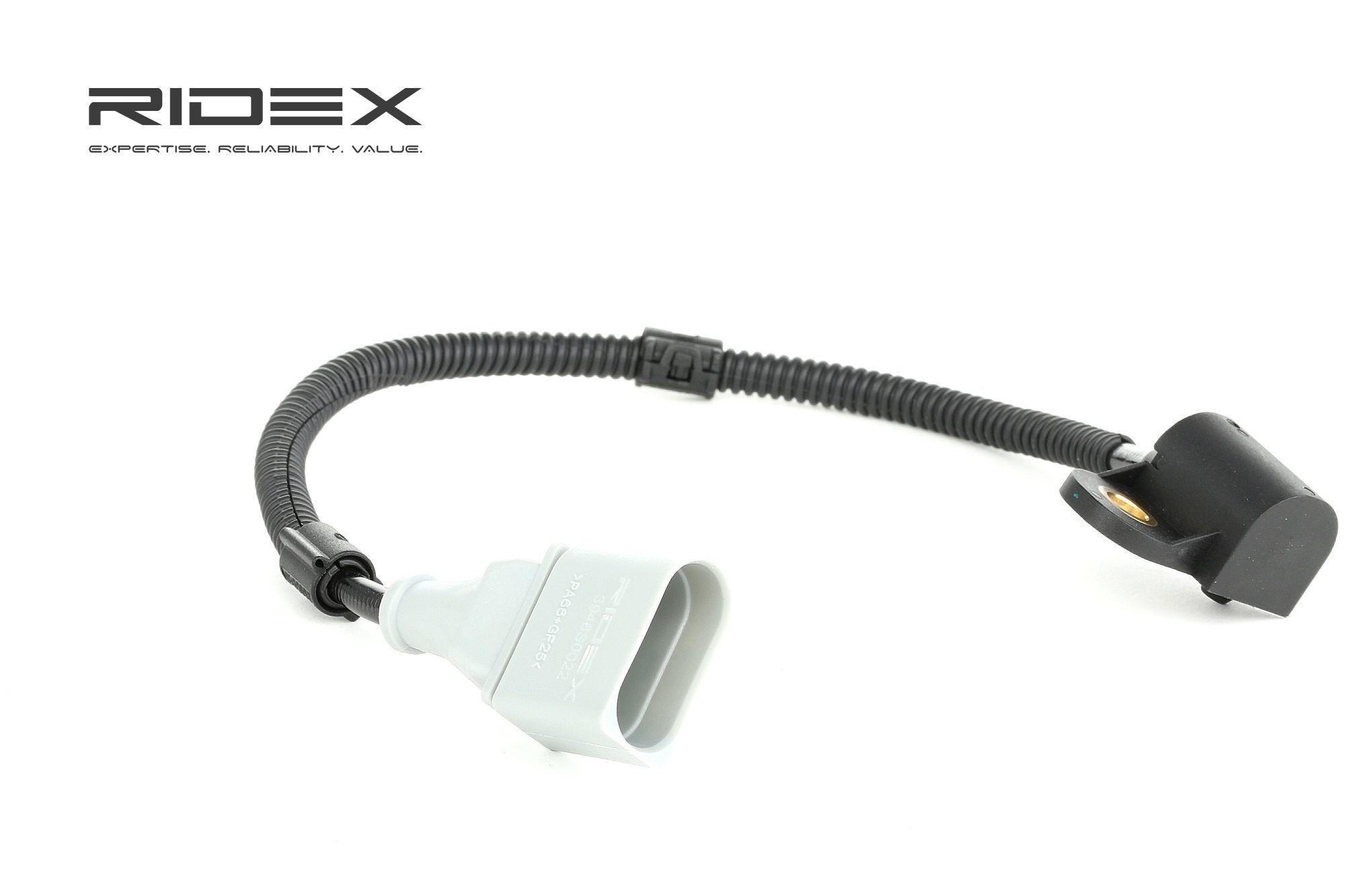 RIDEX: Original Impulsgeber Nockenwelle 3946S0022 (Pol-Anzahl: 3-polig, Kabellänge: 270, 350mm)