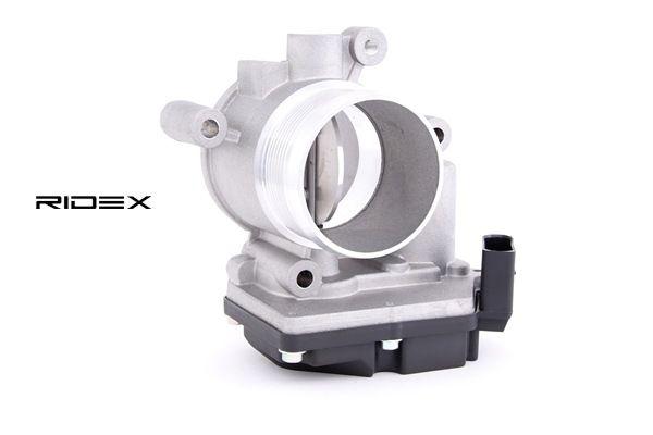RIDEX: Original Saugrohrklappe 158T0024 (Anschlussanzahl: 5)