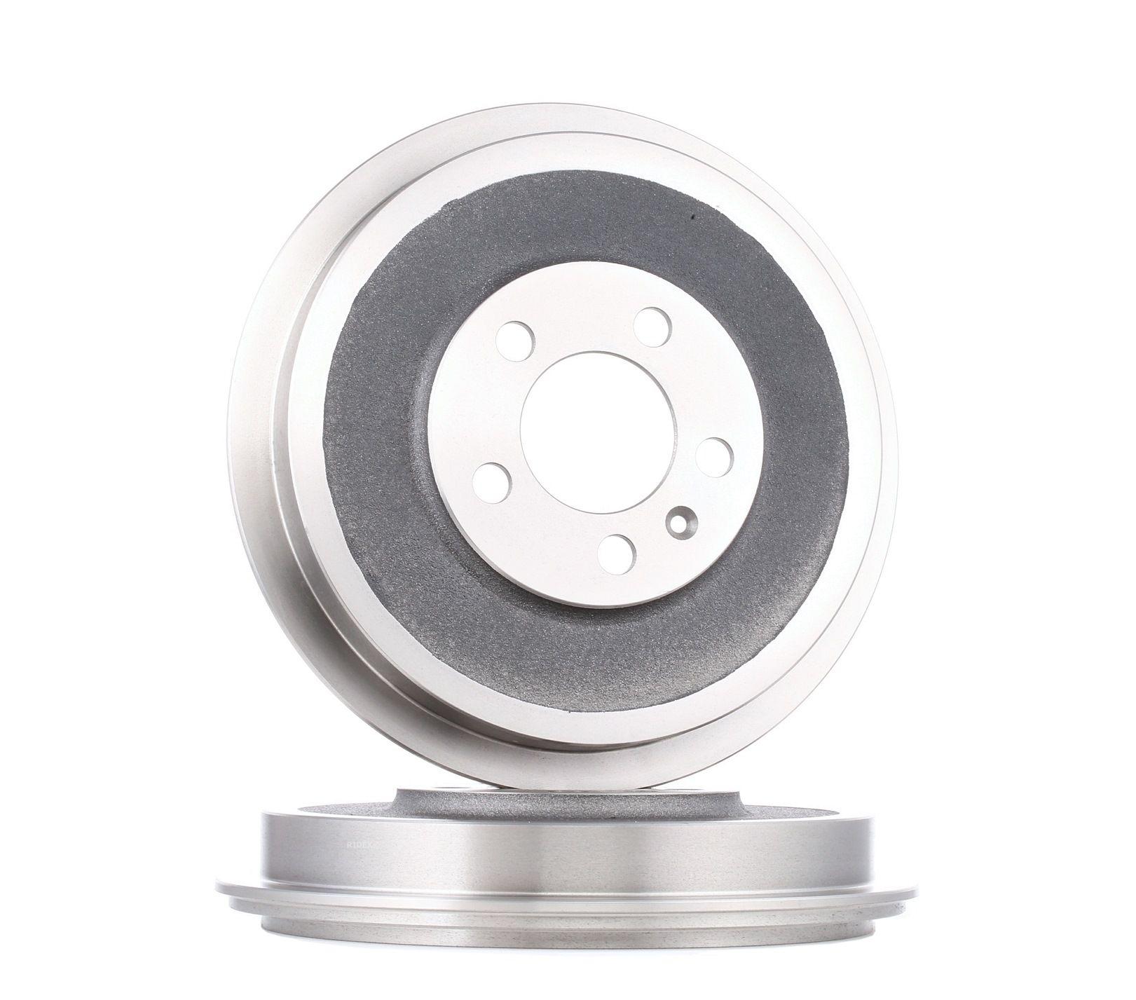 RIDEX: Original Bremstrommel 123B0033 ()