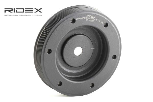 koop RIDEX Riemschijf, krukas 3213B0012 op elk moment