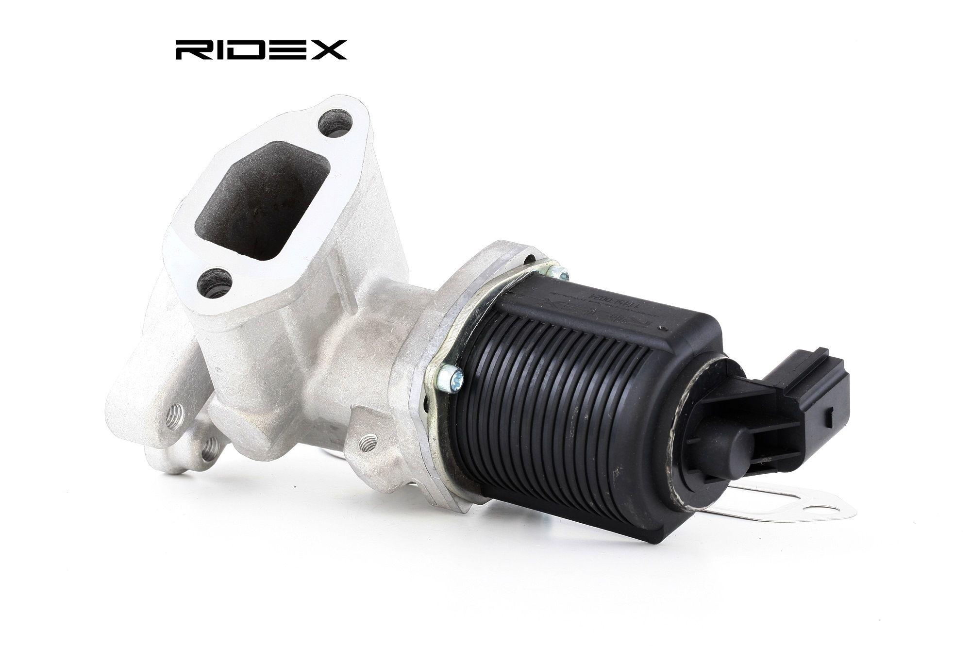 RIDEX: Original Abgasrückführung 1145E0024 (Pol-Anzahl: 2-polig)