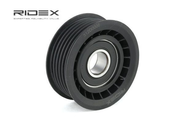 buy RIDEX Deflection / Guide Pulley, v-ribbed belt 312D0006 at any time