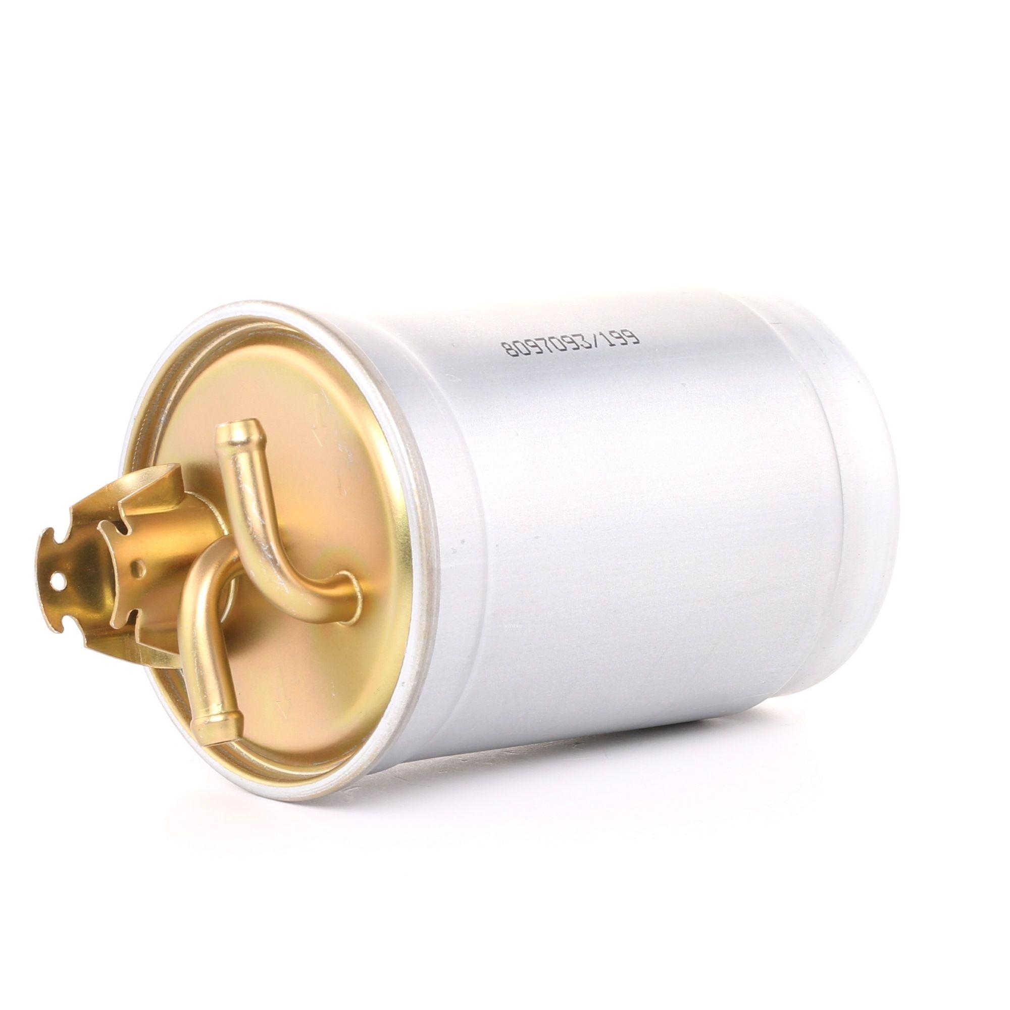 Palivový filtr 9F0018 s vynikajícím poměrem mezi cenou a RIDEX kvalitou