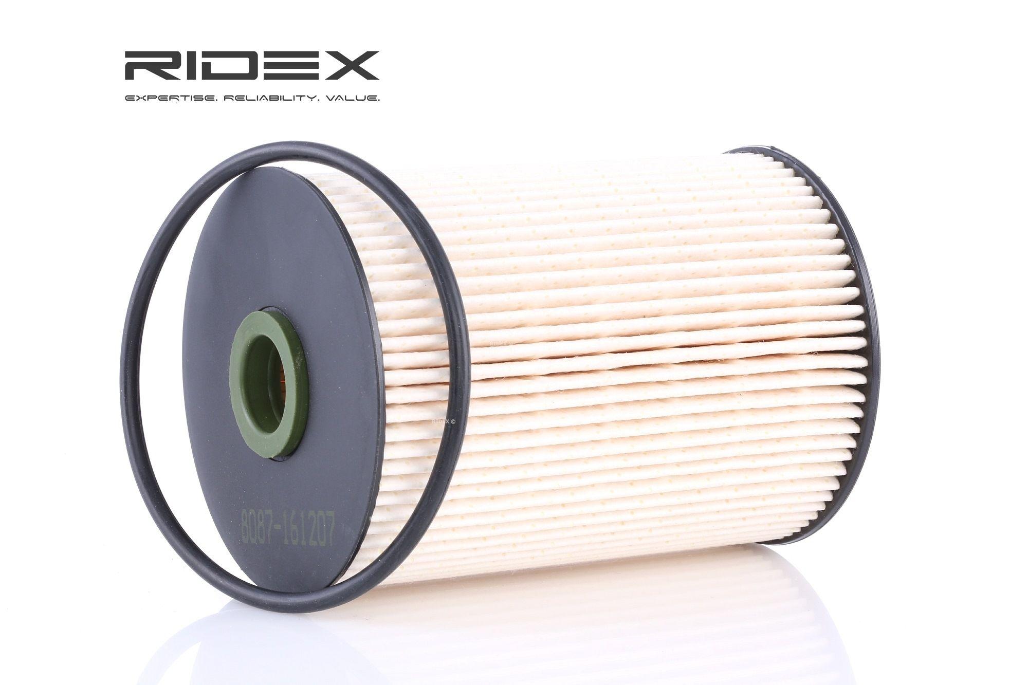 Palivový filtr 9F0033 s vynikajícím poměrem mezi cenou a RIDEX kvalitou