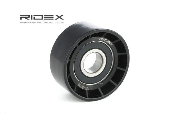 Køb RIDEX Medløberhjul, multi-V-rem 312D0009
