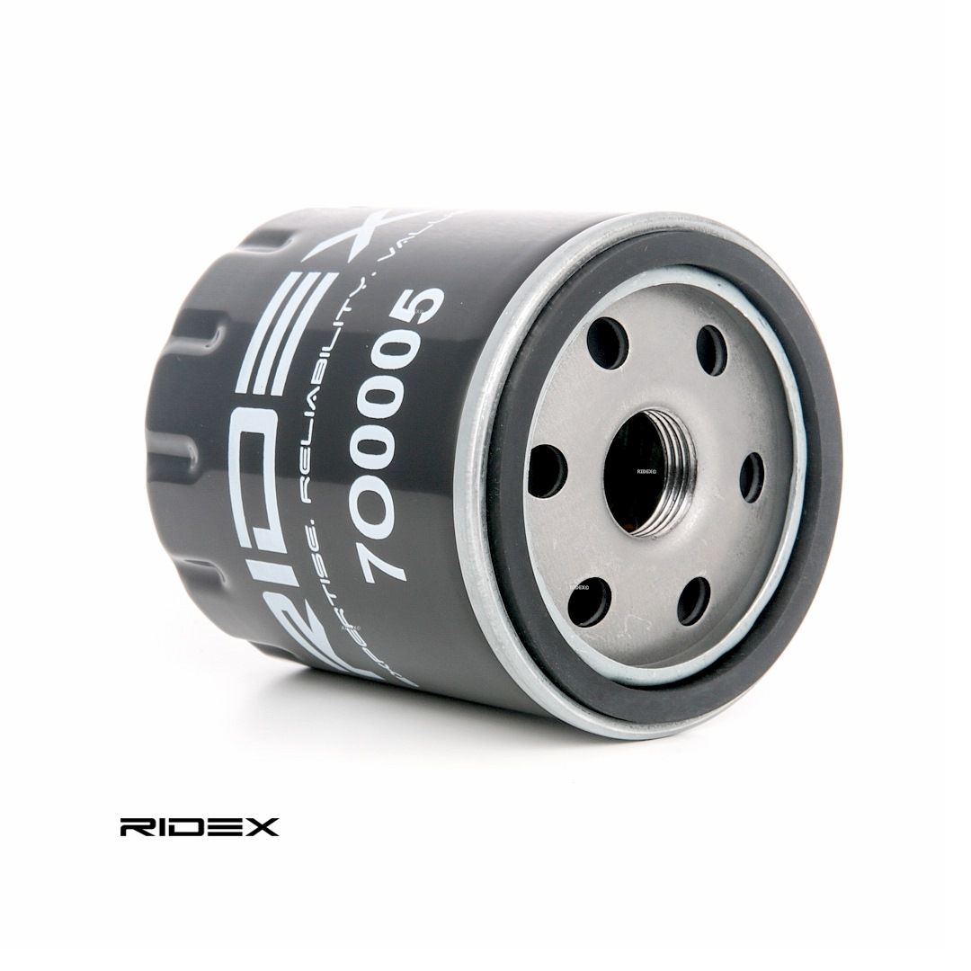 7O0005 RIDEX našroubovaný filtr R: 79,0mm, Výška: 89,0mm Olejový filtr 7O0005 kupte si levně