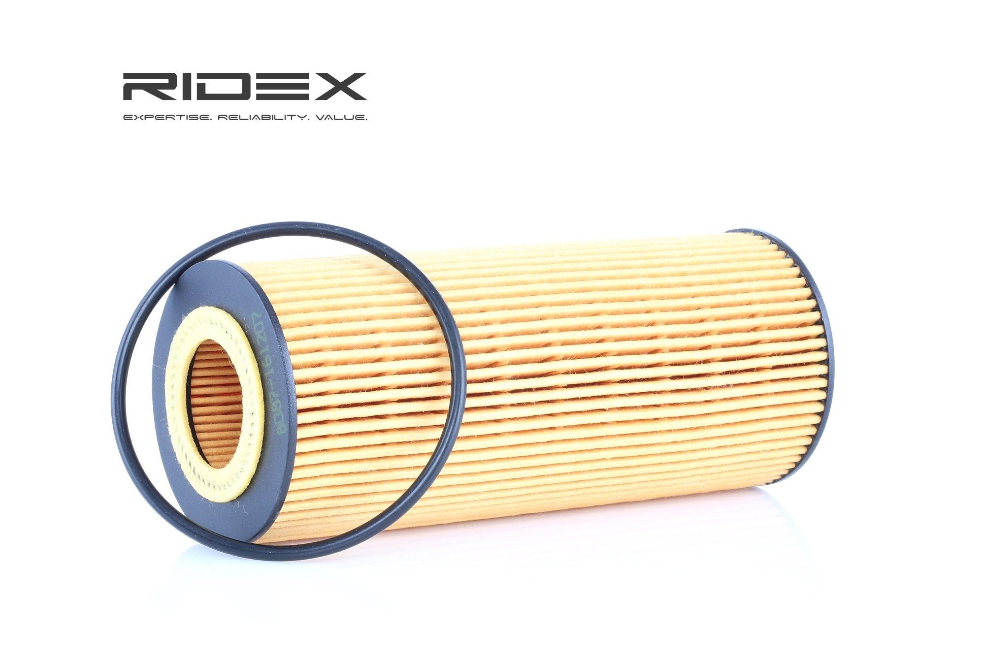 Filtre à huile 7O0054 RIDEX — seulement des pièces neuves