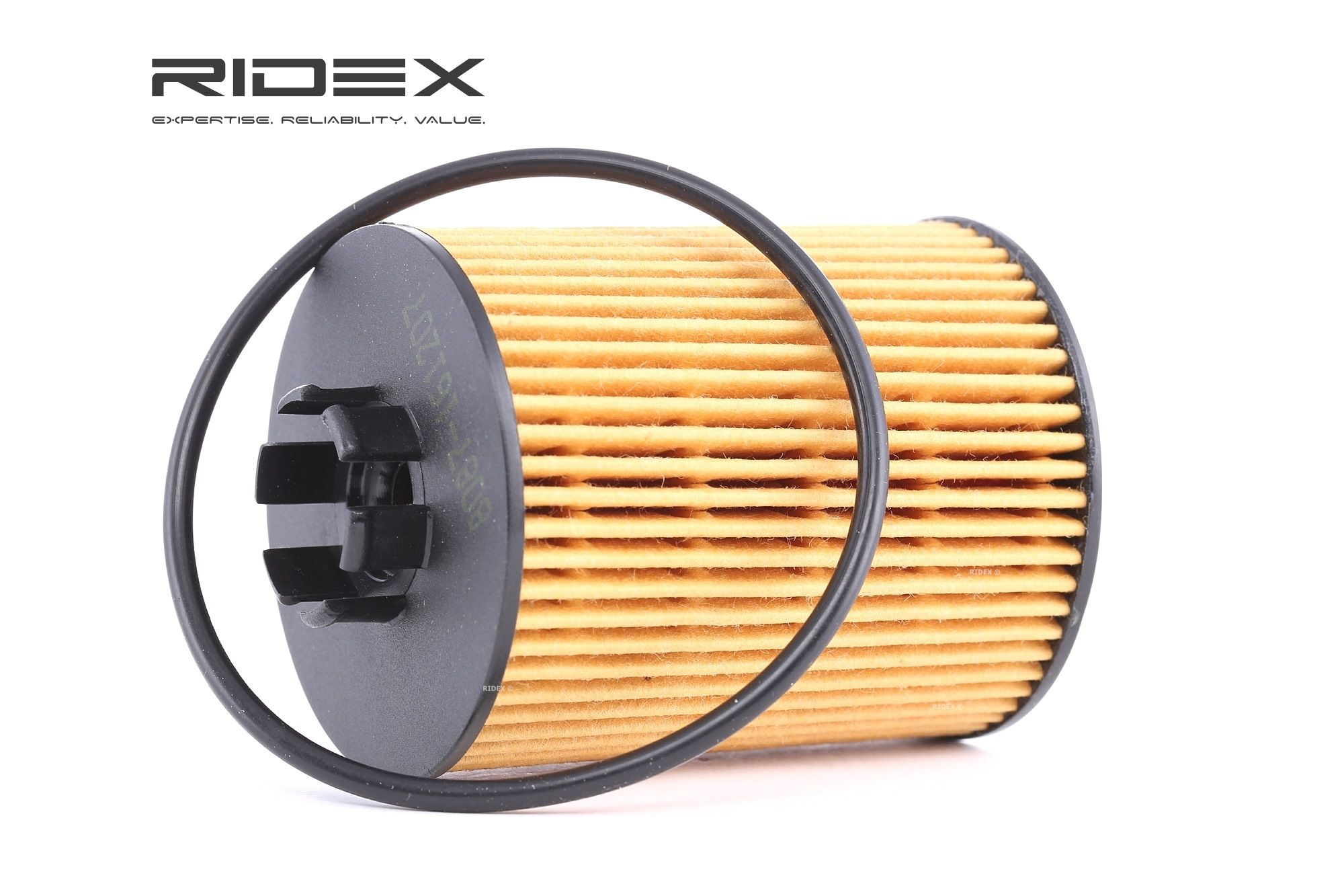 Oil filter 7O0049 RIDEX — only new parts