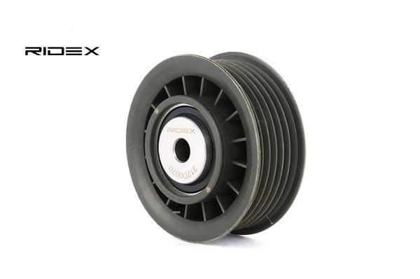 buy RIDEX Deflection / Guide Pulley, v-ribbed belt 312D0070 at any time