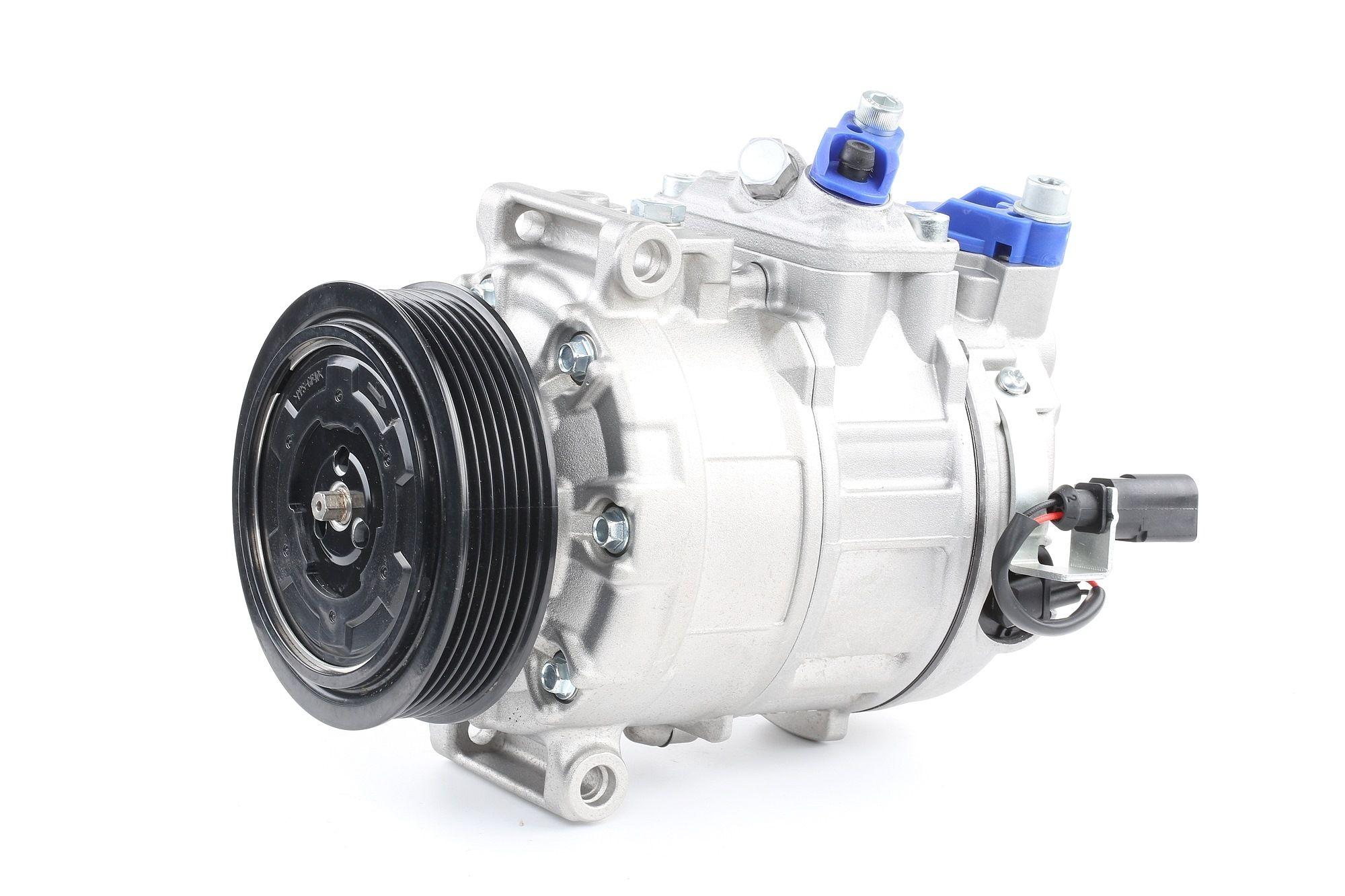 RIDEX: Original Kompressor Klimaanlage 447K0004 (Riemenscheiben-Ø: 110mm, Anzahl der Rillen: 6)