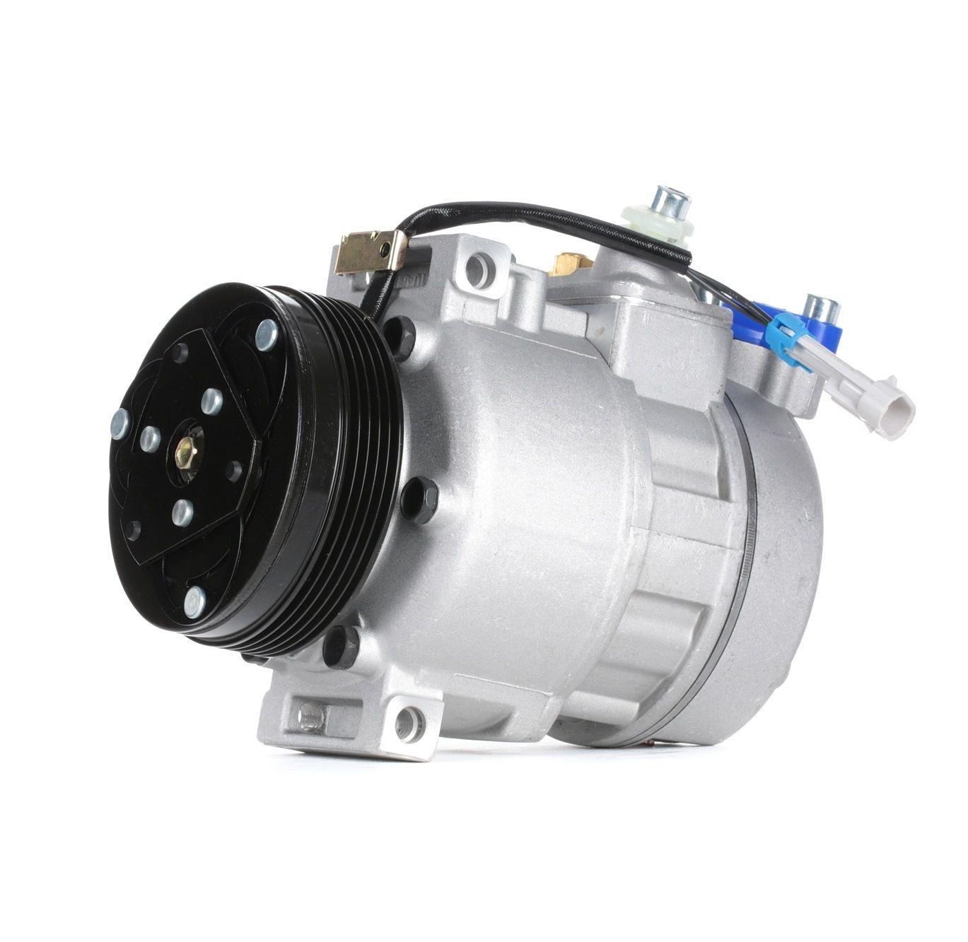 Kompressor Klimaanlage Opel Zafira f75 2005 - RIDEX 447K0010 (Riemenscheiben-Ø: 110mm, Anzahl der Rillen: 5)