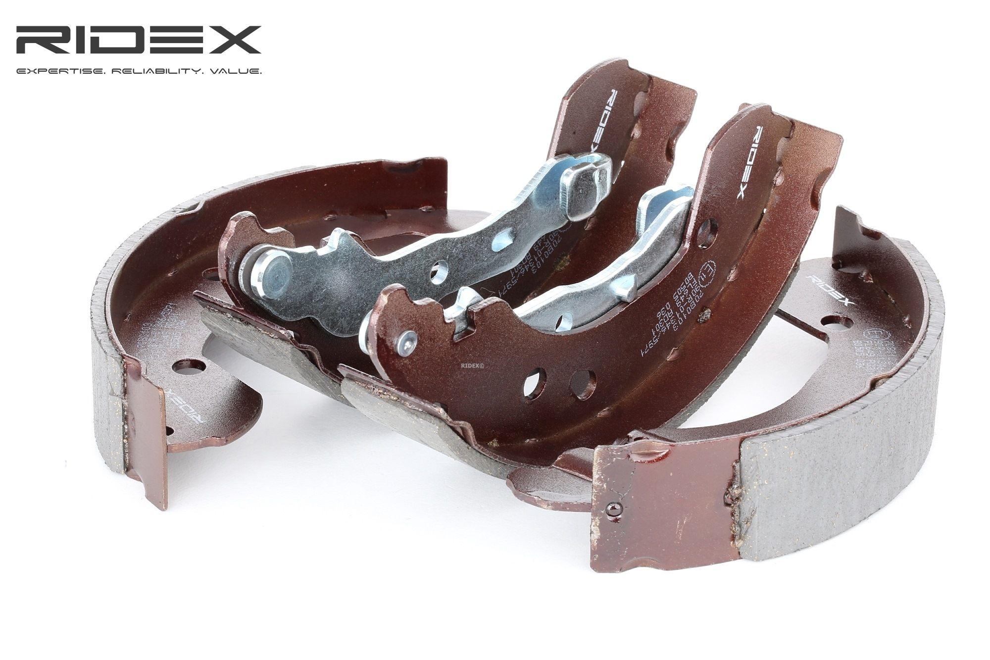RIDEX: Original Bremsbeläge für Trommelbremsen 70B0103 (Breite: 38mm)
