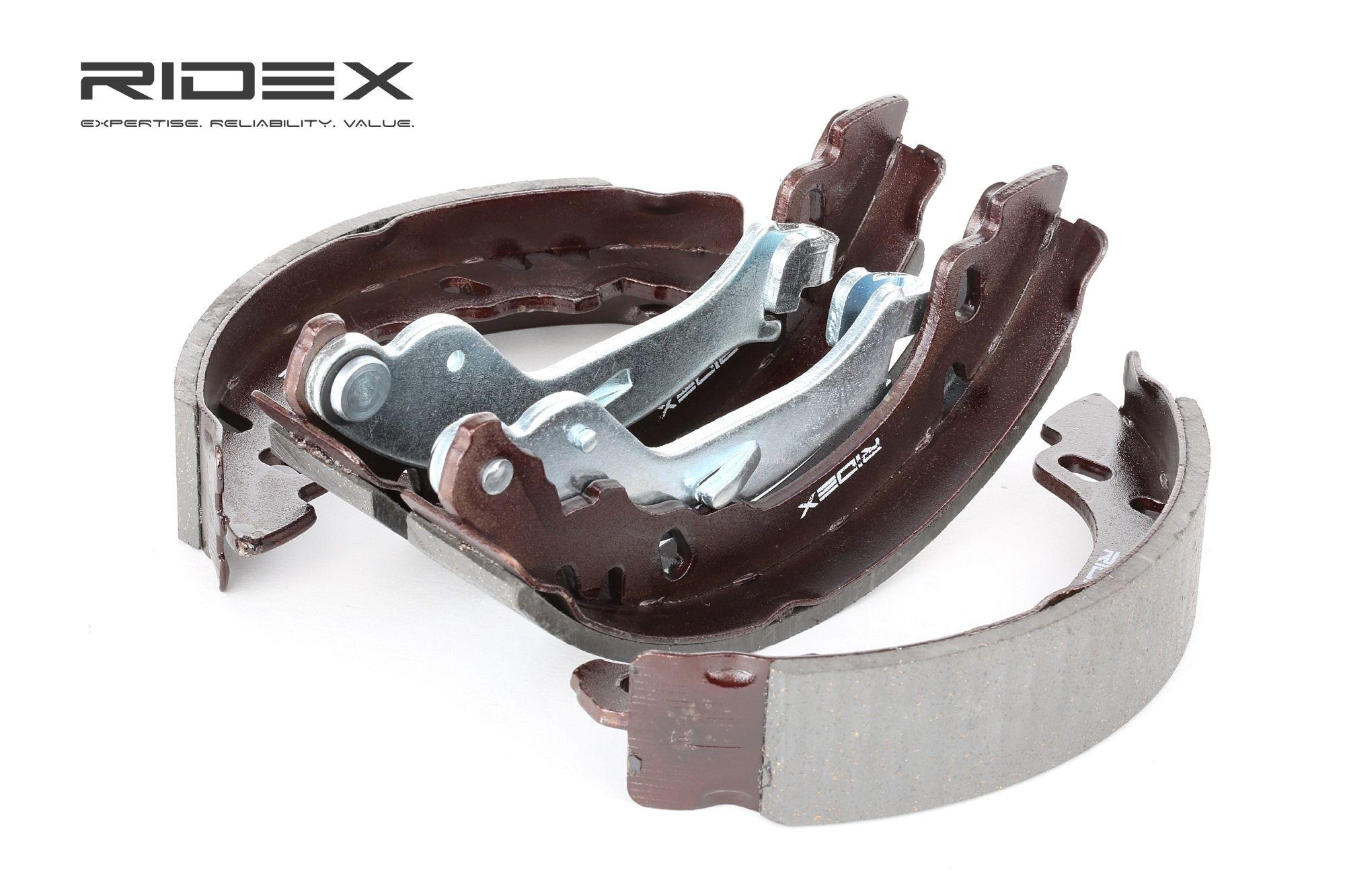70B0014 RIDEX Hinterachse, Ø: 180mm, mit Handbremshebel Breite: 32mm Bremsbackensatz 70B0014 günstig kaufen