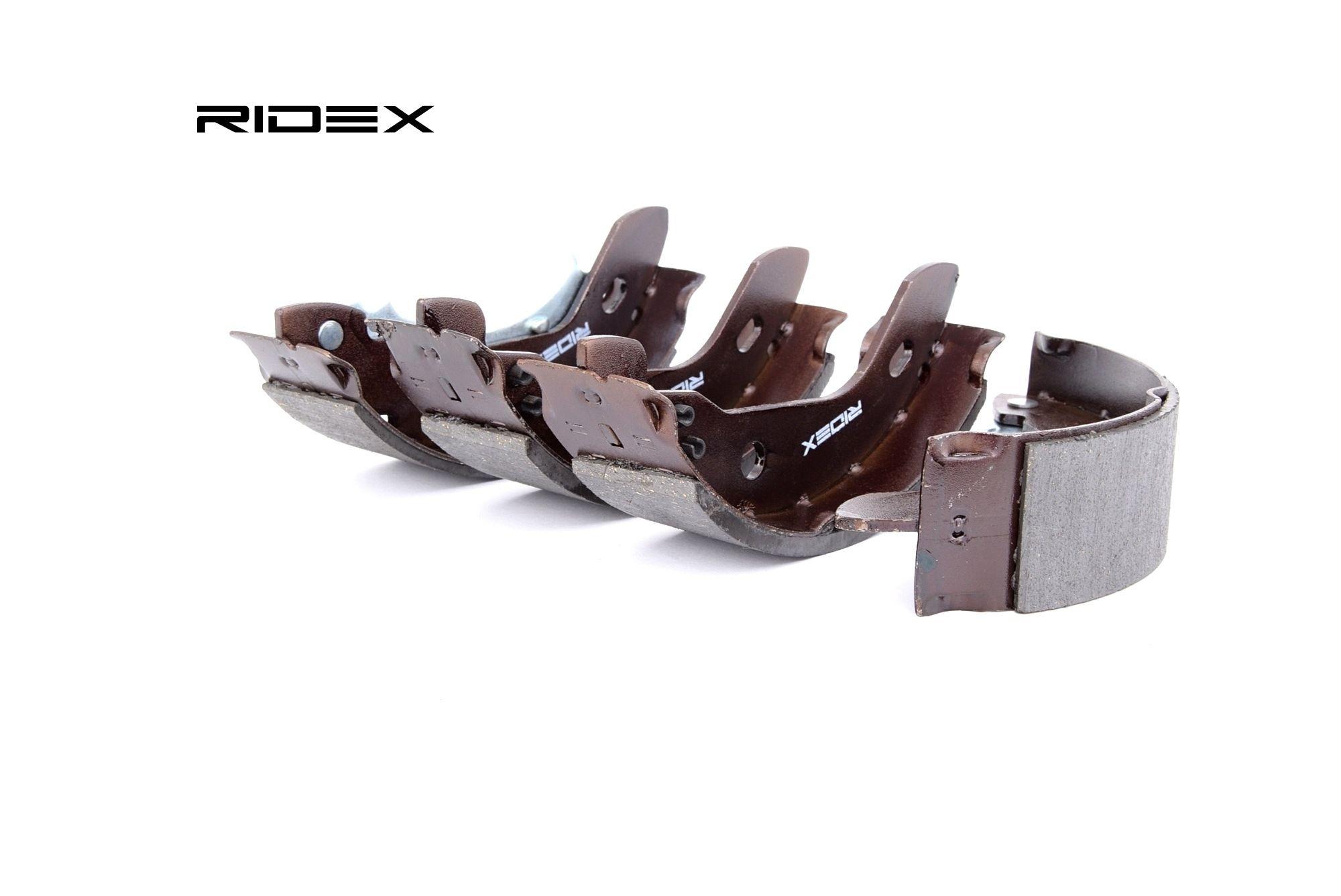 RIDEX: Original Bremsbeläge für Trommelbremsen 70B0165 (Breite: 41,5mm)