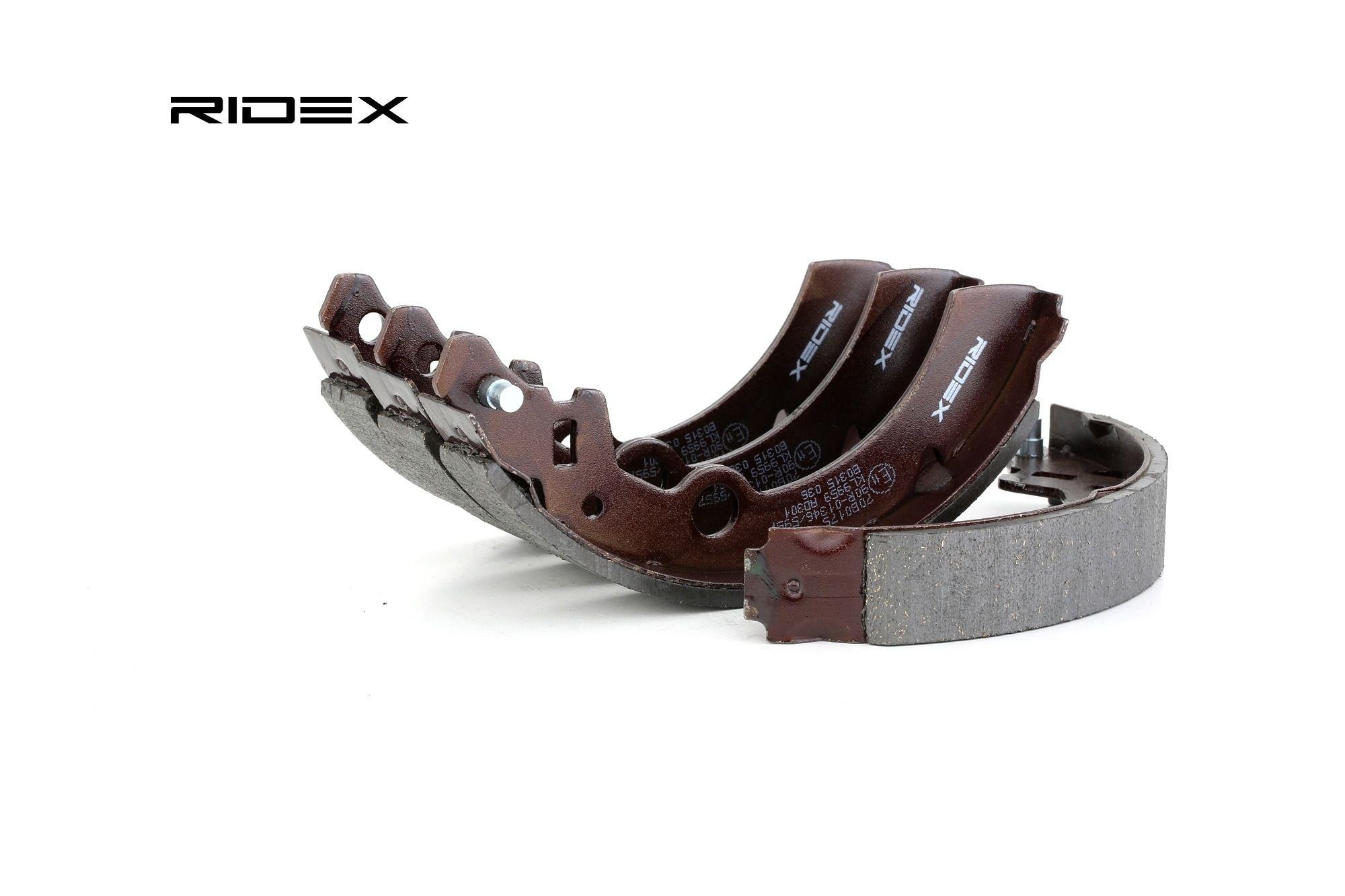 RIDEX: Original Trommelbremsen set 70B0175 (Breite: 26mm)