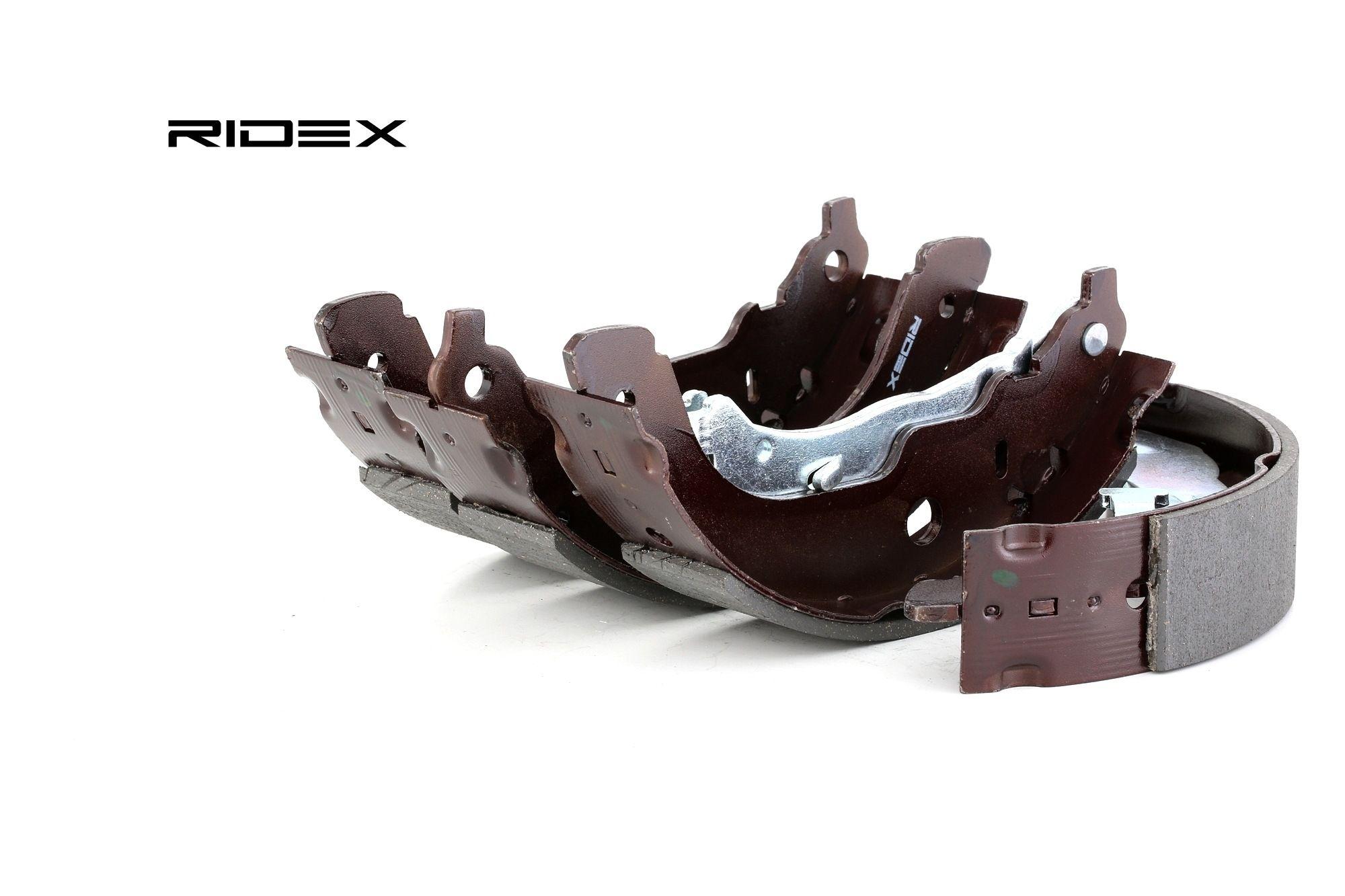 RIDEX: Original Bremsbackensatz für Trommelbremse 70B0153 (Breite: 42mm)