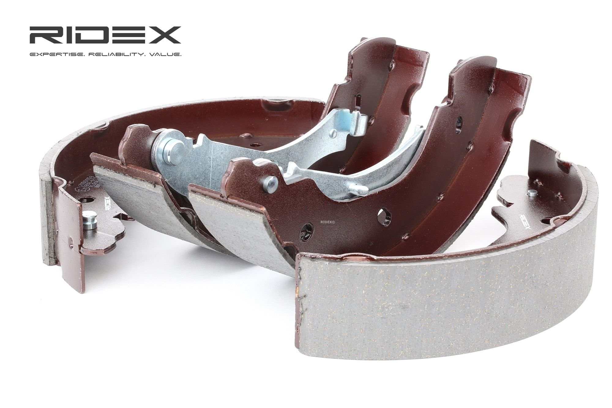 RIDEX: Original Trommelbremsbacken 70B0059 (Breite: 52mm)
