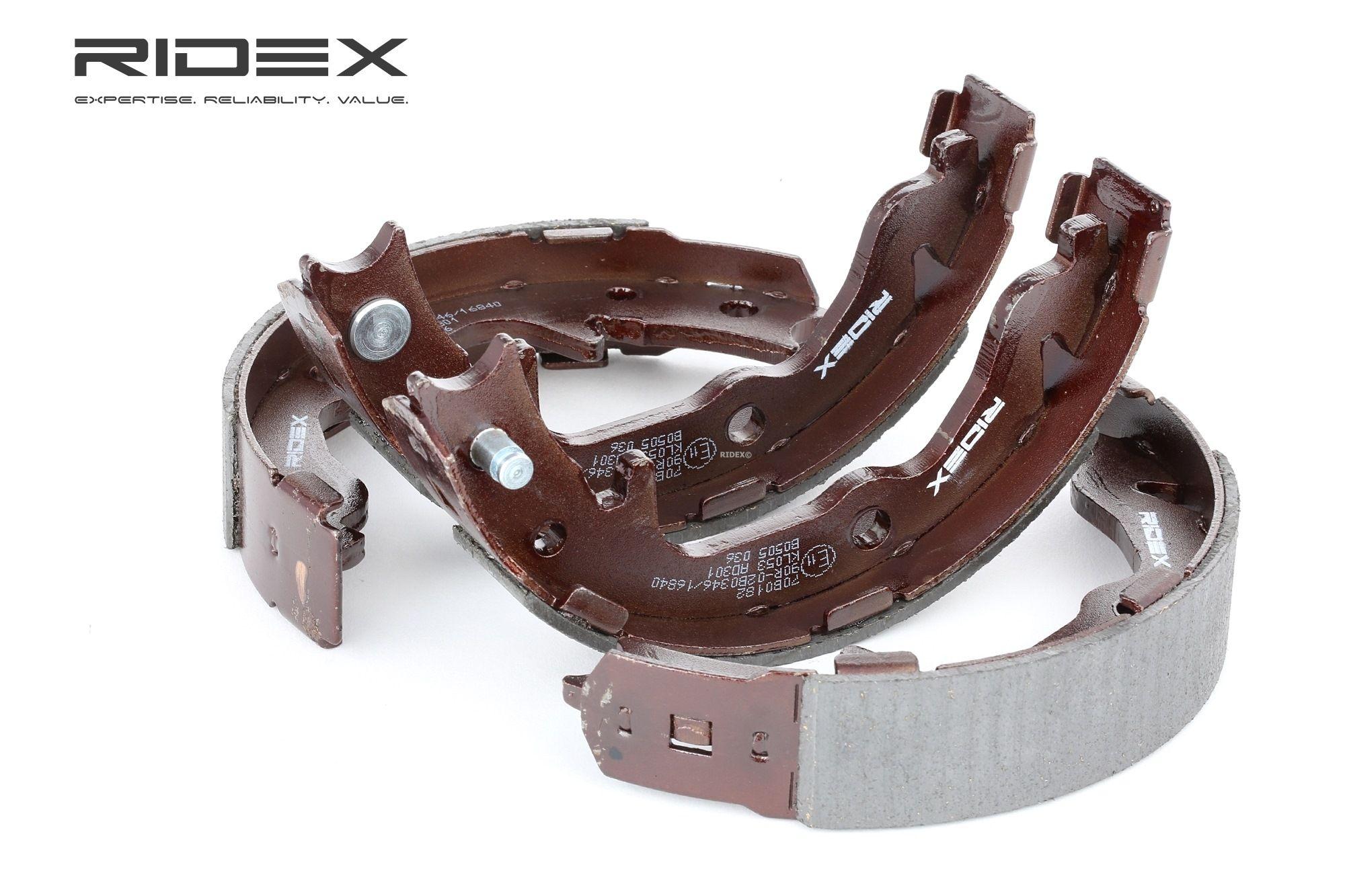RIDEX: Original Trommelbremse 70B0182 (Breite: 31,5mm)