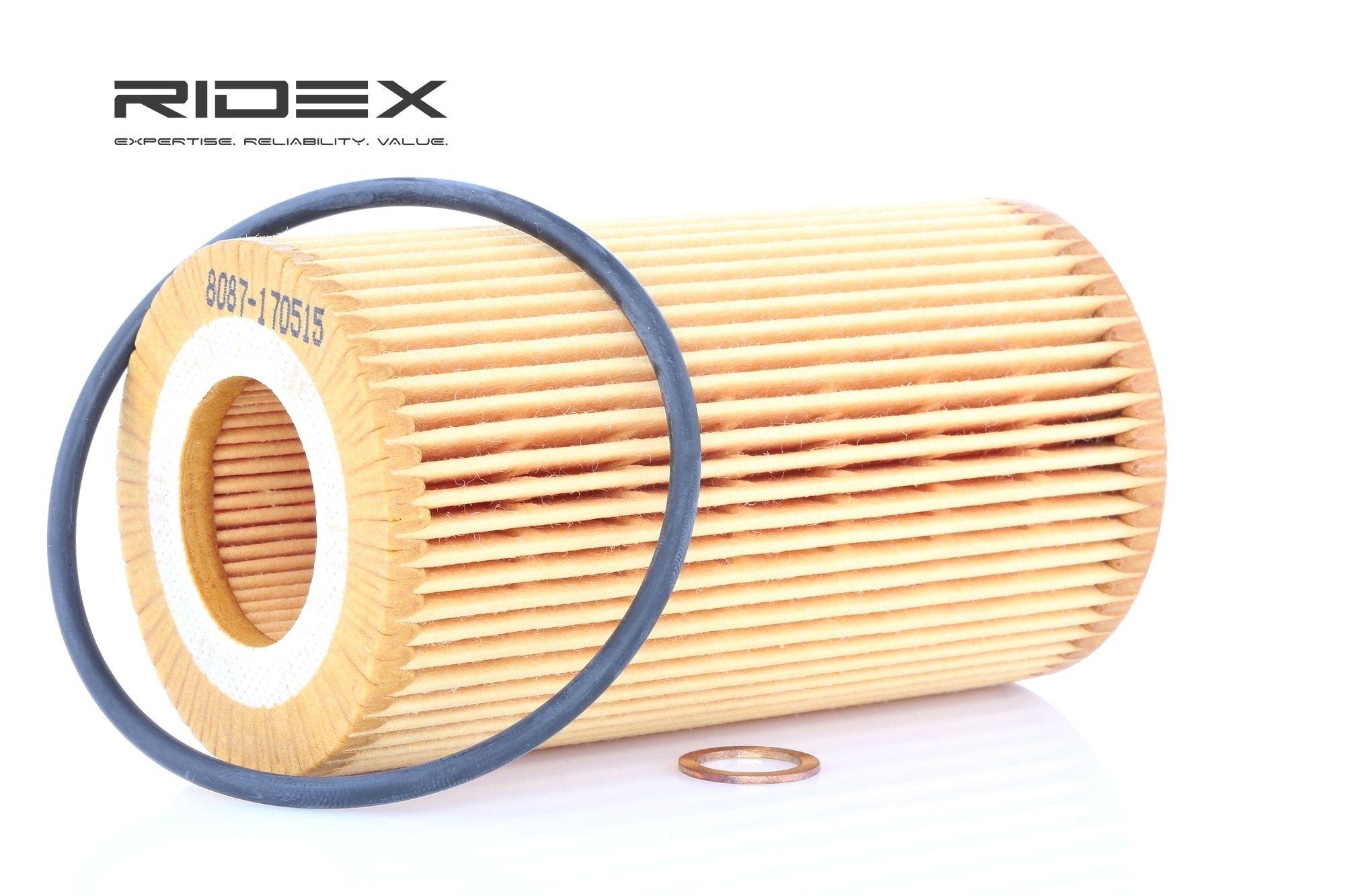 Ölfilter RIDEX 7O0072