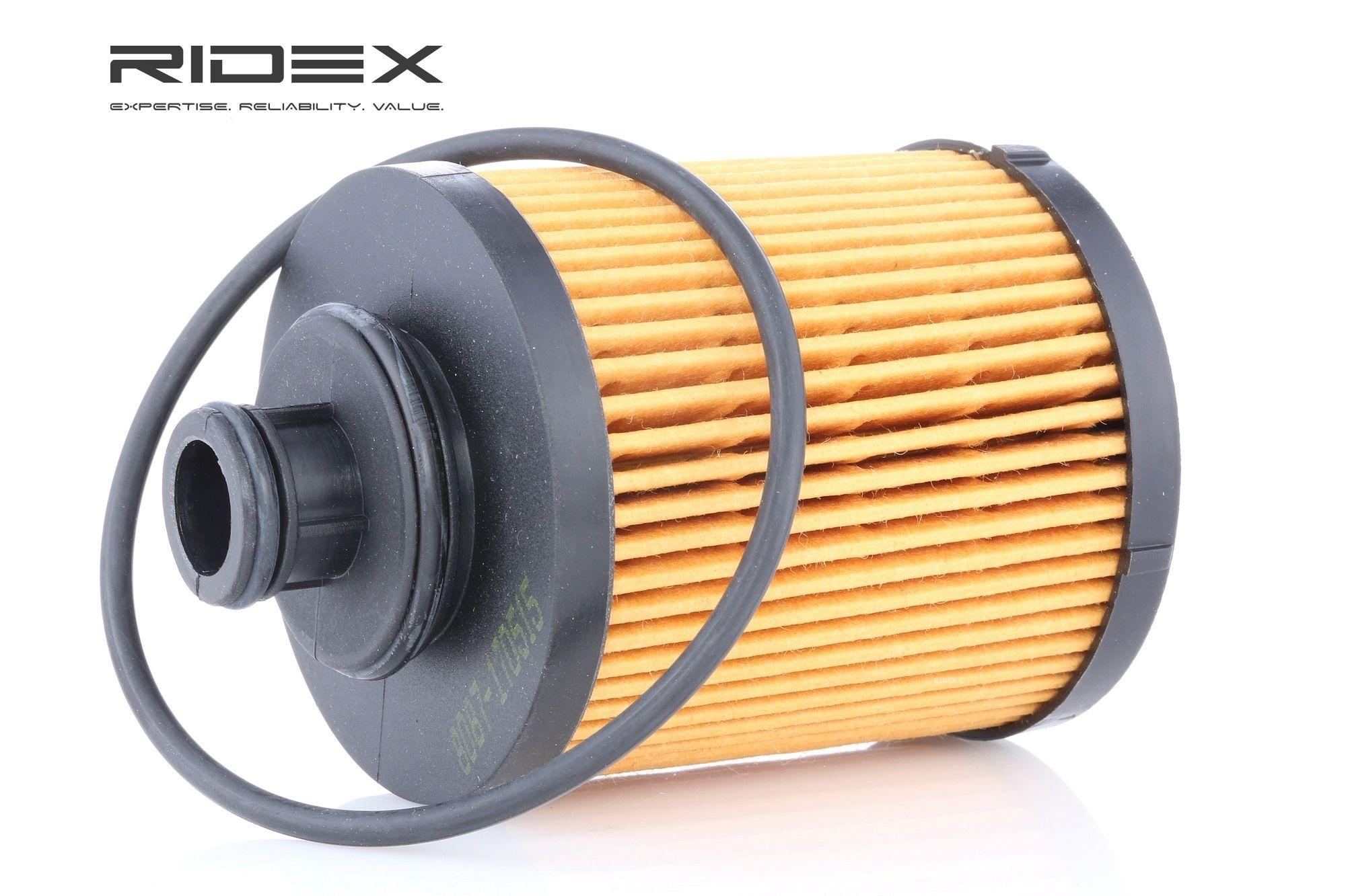 Buy original Oil filter RIDEX 7O0076