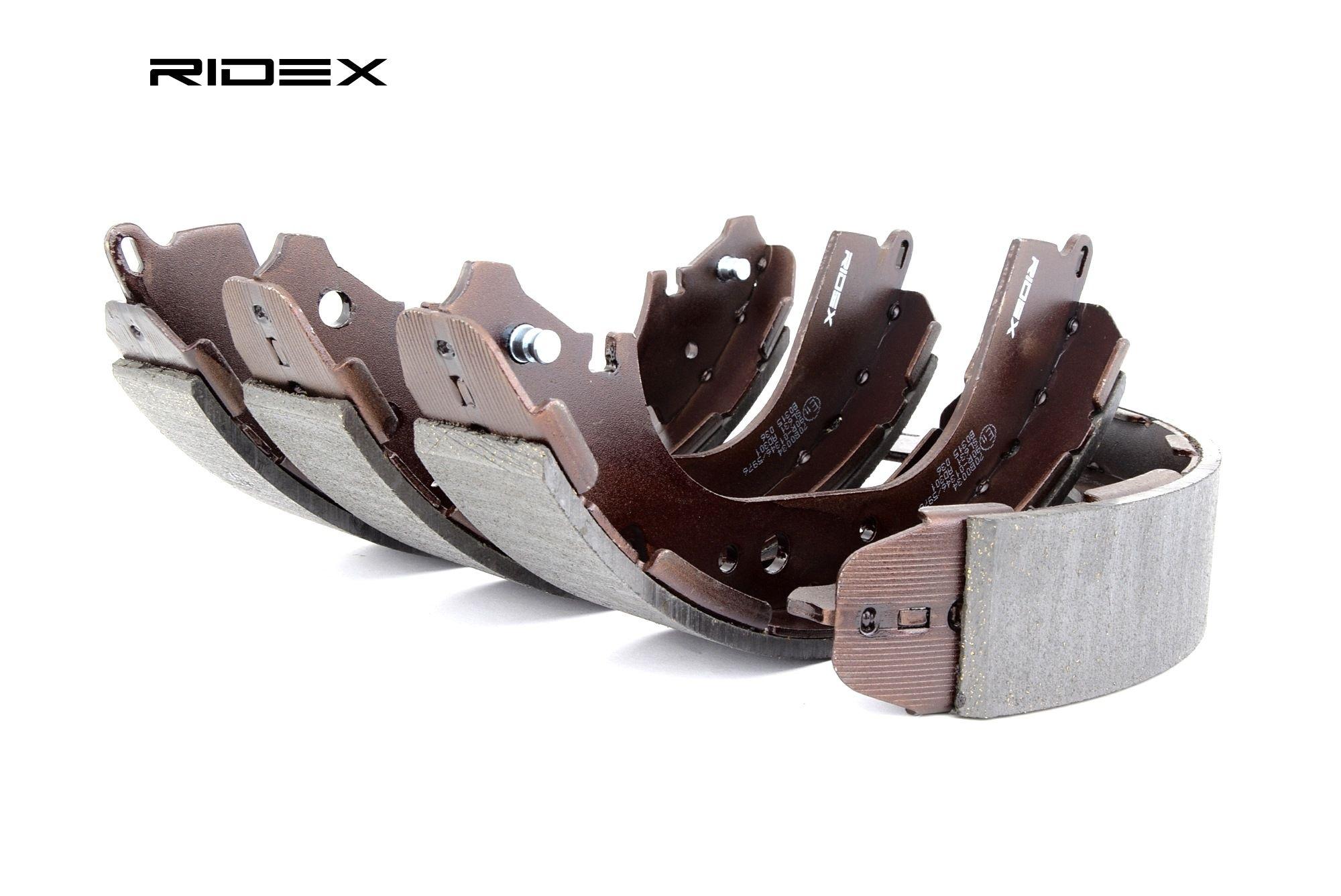 RIDEX: Original Bremsbackensatz für Trommelbremse 70B0034 (Breite: 51mm)