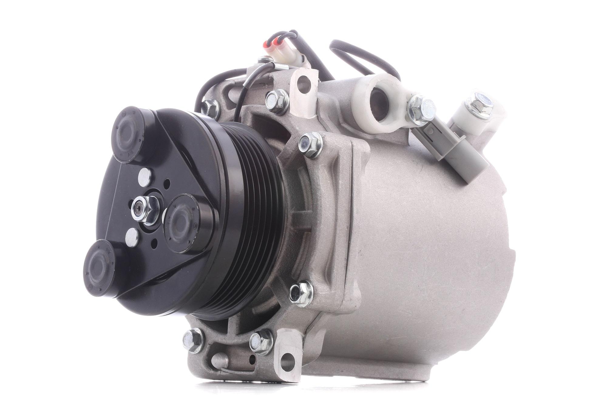 Origine Compresseur d'air conditionné RIDEX 447K0125 (Poulies-Ø: 95mm, Nombre de gorges: 6)