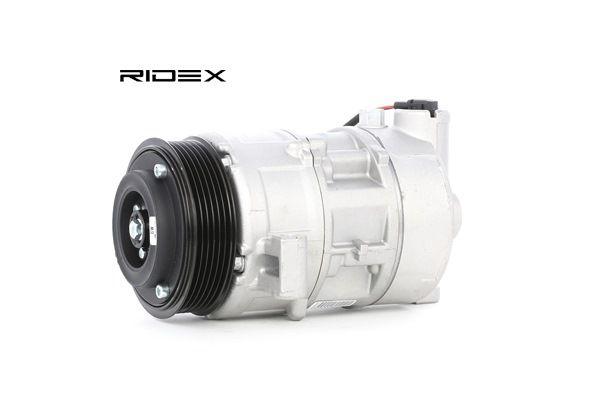 RIDEX: Original Kompressor Klimaanlage 447K0223 (Riemenscheiben-Ø: 100mm, Anzahl der Rillen: 6) mit vorteilhaften Preis-Leistungs-Verhältnis