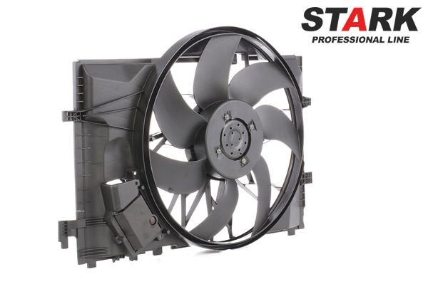 Fan, radiator SKRF-0300085 — current discounts on top quality OE A2035050255 spare parts