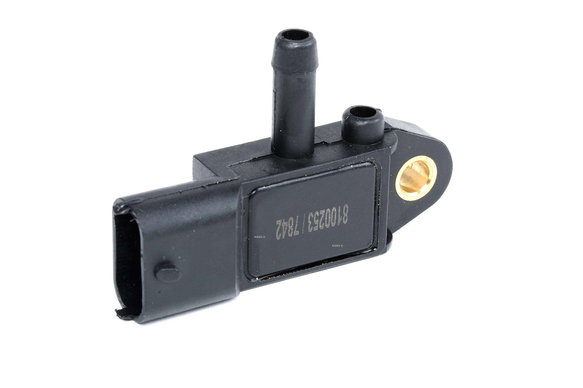 RIDEX: Original Abgasdrucksensor 4272S0008 (Anschlussanzahl: 3)