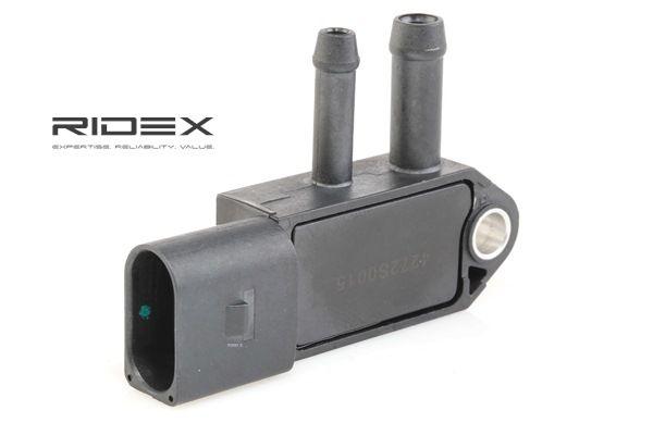 Αγοράστε RIDEX Αισθητήρας, πίεση καυσαερίων 4272S0015 οποιαδήποτε στιγμή