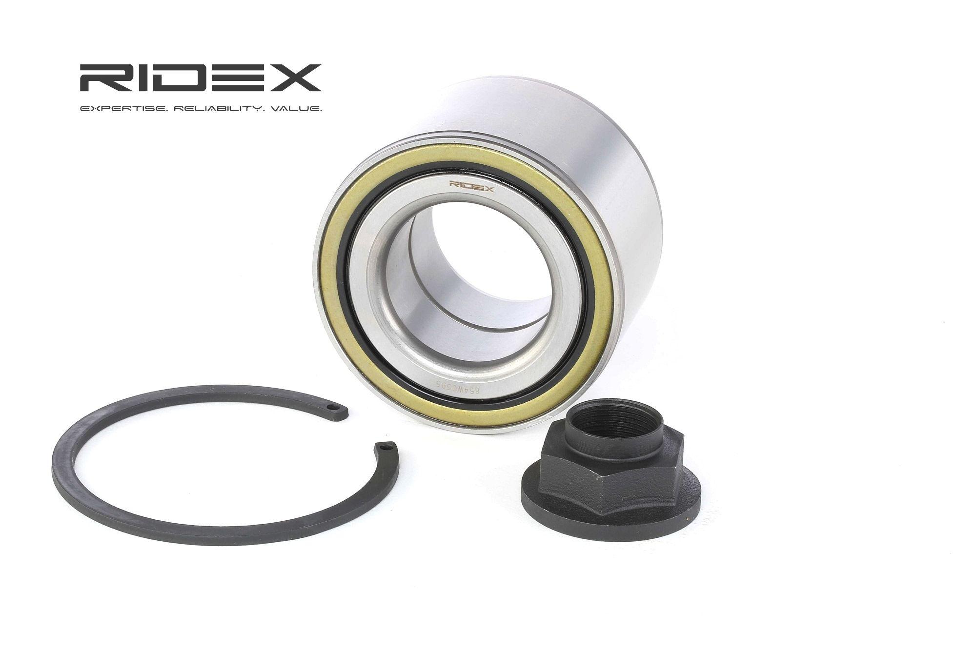 RIDEX: Original Lager 654W0595 (Ø: 88mm, Innendurchmesser: 47mm)