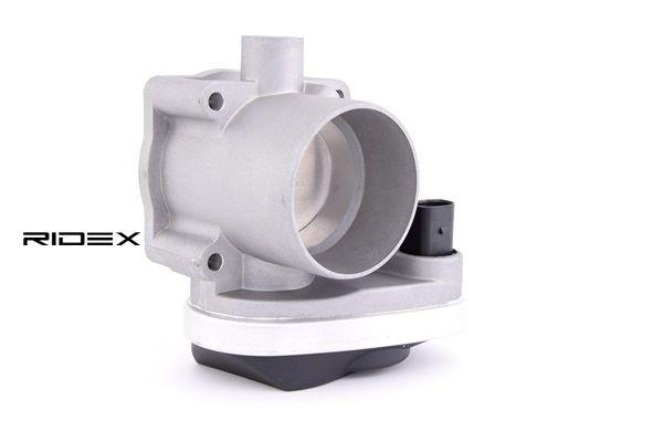 Гърловина на дроселовата клапа 158T0025 RIDEX — само нови детайли