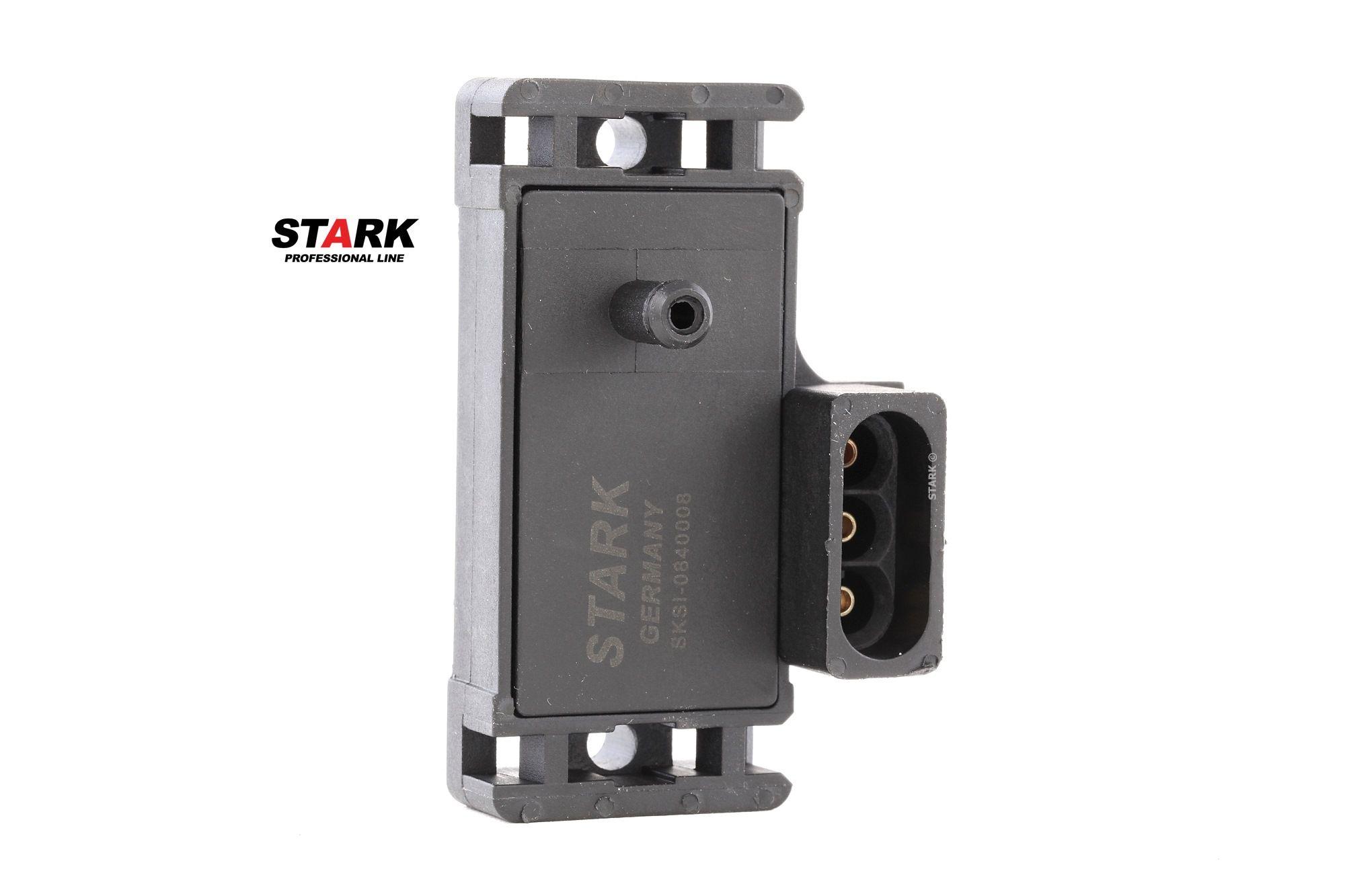 OPEL CORSA 2015 Sensor, Saugrohrdruck - Original STARK SKSI-0840008 Anschlussanzahl: 3