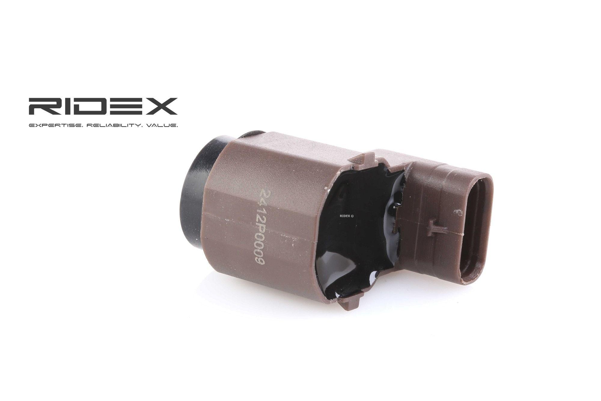 2412P0009 RIDEX innen, vorne, Ultraschallsensor Sensor, Einparkhilfe 2412P0009 günstig kaufen