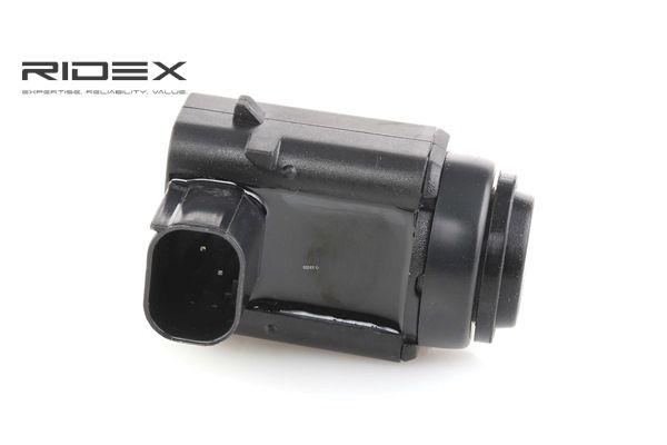 2412P0011 Aides au stationnement avant, arrière, noir, Récepteur à ultrasons RIDEX à petits prix à acheter dès maintenant !